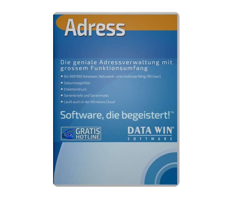DATA WIN Adress