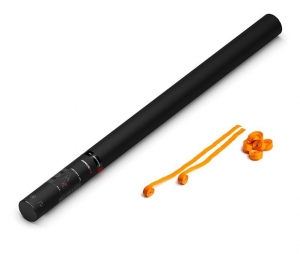 Party Shooter PRO 80 cm - Luftschlangen - orange